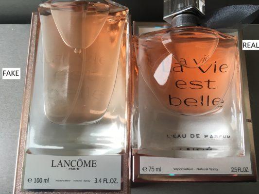 como saber si es original un perfume